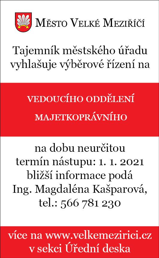 Vedoucí odboru majetkoprávního_dole