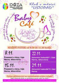 Baby cafe_listopad