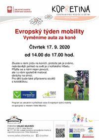 Dny mobility__kůň_leták_2020