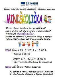 plakát miniškolička