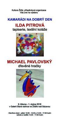 Výstava Pitrová_a_Pavlovský_