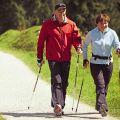 Dny zdraví s pohybem a chůzí s holemi Nordic walking